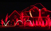 Musical Christmas Light Houses