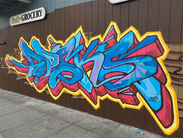 apex graffiti san francisco