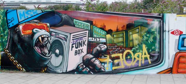 aroe graffiti