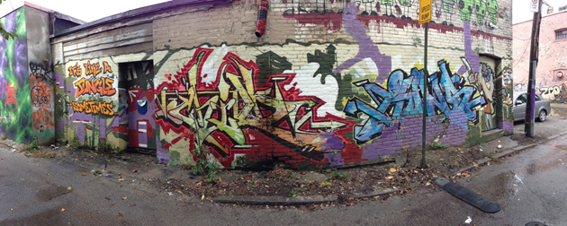 art child rons graffiti panorama