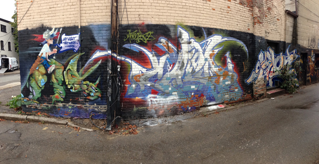 art child slon wall panorama