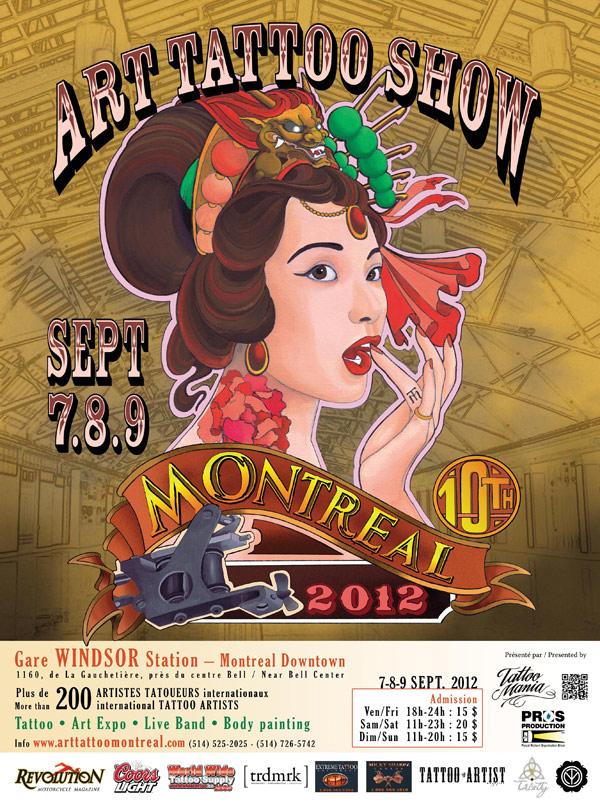 art tattoo show 2012