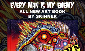 Skinner Art Book Release on Friday