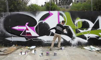 Artist Driven San Francisco Graffiti Video