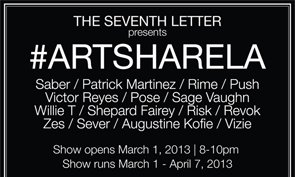 The Seventh Letter Presents: #ARTSHARELA