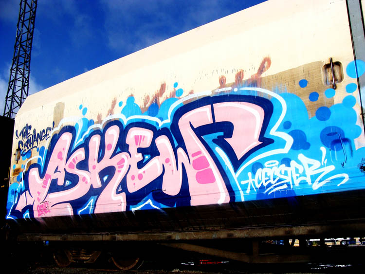 Askew Graffiti Trailer