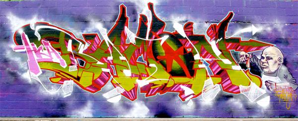 bacon rath graffiti
