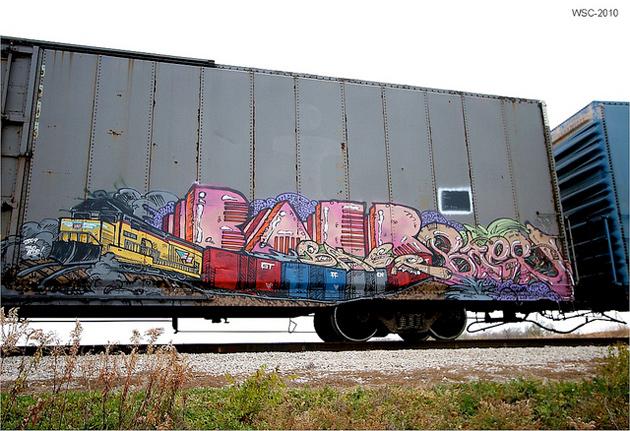 Baer Graffiti Boxcar