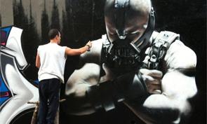 Bane Graffiti Character by Scaf