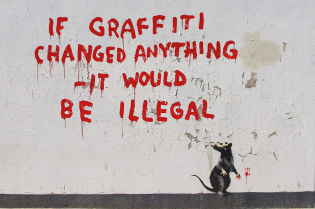 banksy if graffiti changed anything