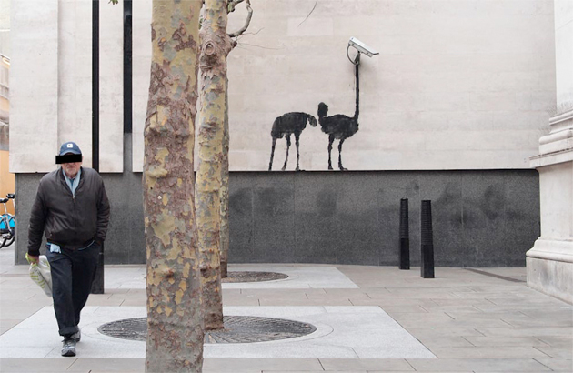 banksy ostridge london street art