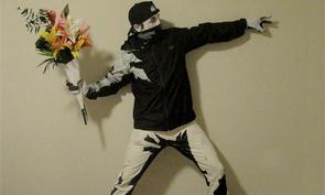 Banksy Stencil Halloween Costume