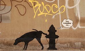 New Banksy in New York