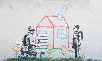 New Banksy Stencil in LA