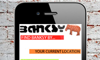 Banksy Location App