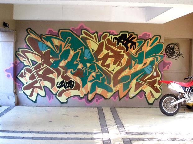 barnes graffiti