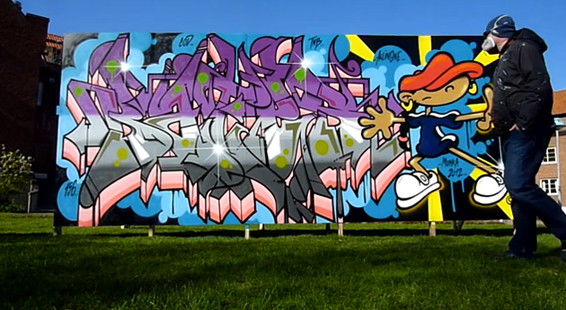 bates graffiti 2012