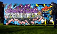 Bates Graffiti Time-lapse