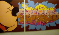 Recap of Bates Graffiti Show