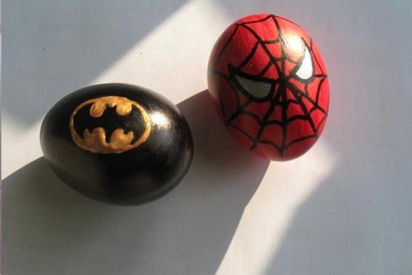 batman spiderman easter eggs