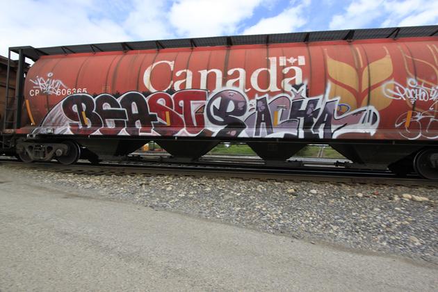 beast pacha graffiti