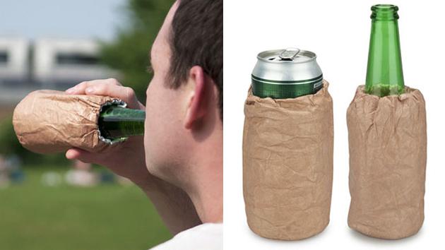 Beer Brown Paper Bags