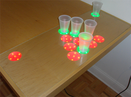 Electronic Beer Pong Table