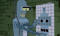 Bender is Space Invader