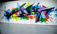 Sueme & Berst Graffiti Name Swap