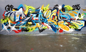 New Graffiti by Berst, Sueme, Ensoe & Asesr