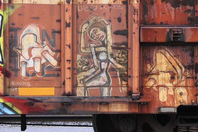 berzerker labrona graffiti boxcar freight
