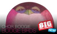 Boogie Bird Big Wall Graphics