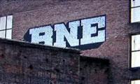 BNE and Banksy Graffiti on CNN