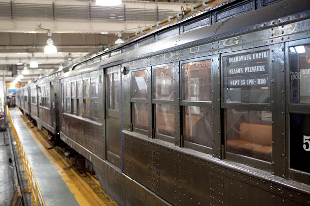 boardwalk empire subway trains in nyc