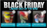Bombing Science Black Friday Sales