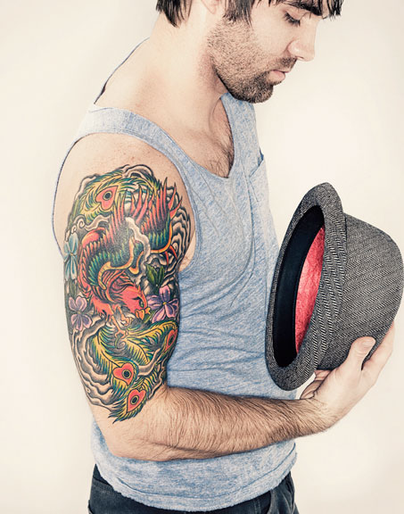 Brian Cummings Tattoo Photography