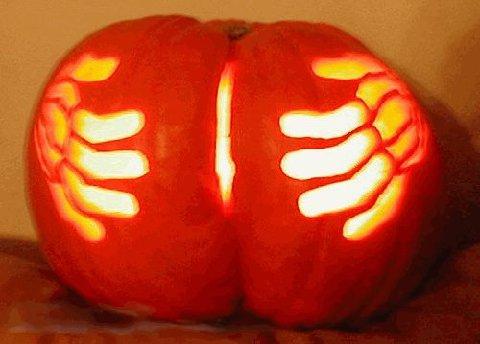 Butt Crack Pumpkin