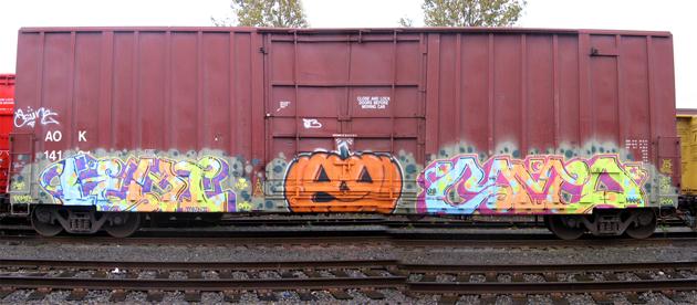 cameo halloween boxcar