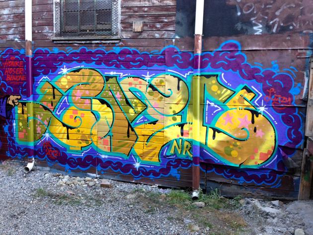 cameo wall graffiti
