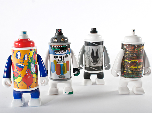canman graffiti vinyl toys