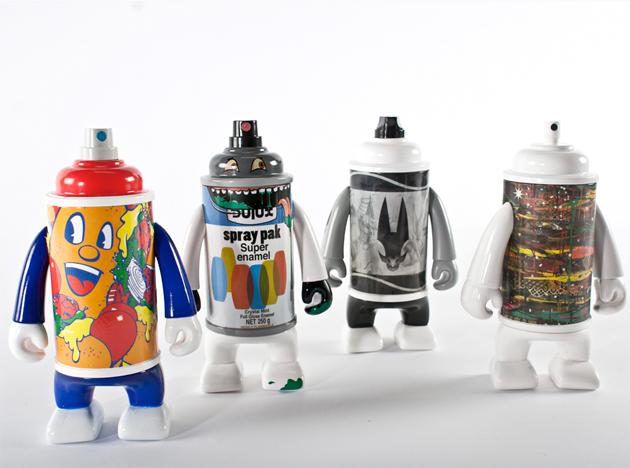canman graffiti vinyl toys