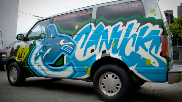 canucks graffiti van sueme mock
