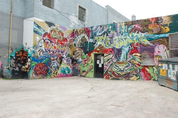 Cash and Decoy Winnipeg Graffiti