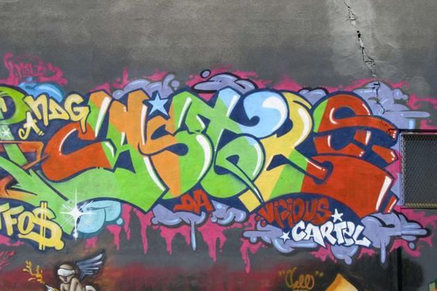 castro graffiti montreal