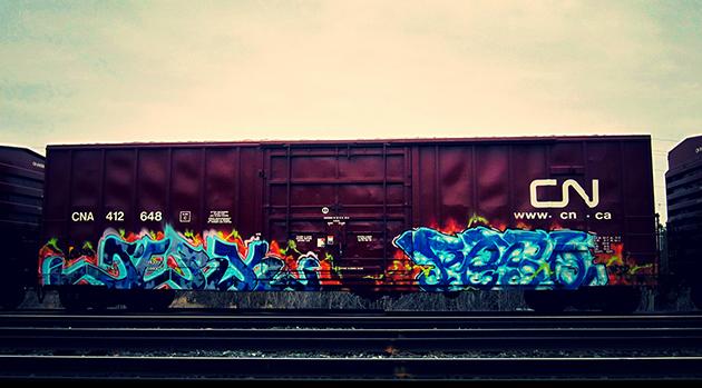 cerk peso boxcar graffiti