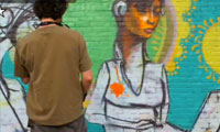 Cern Time Lapse Graffiti Video