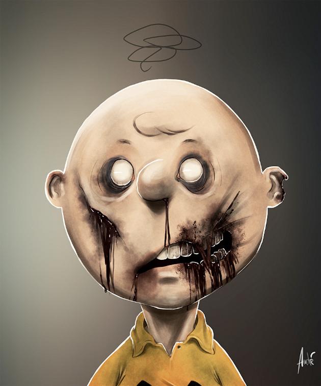 Zombie Superhero & Cartoon Illustrations | Senses Lost
