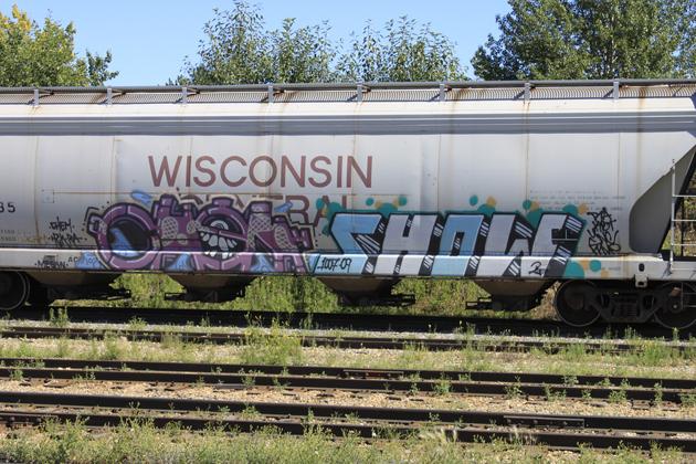 chem show graffiti hopper