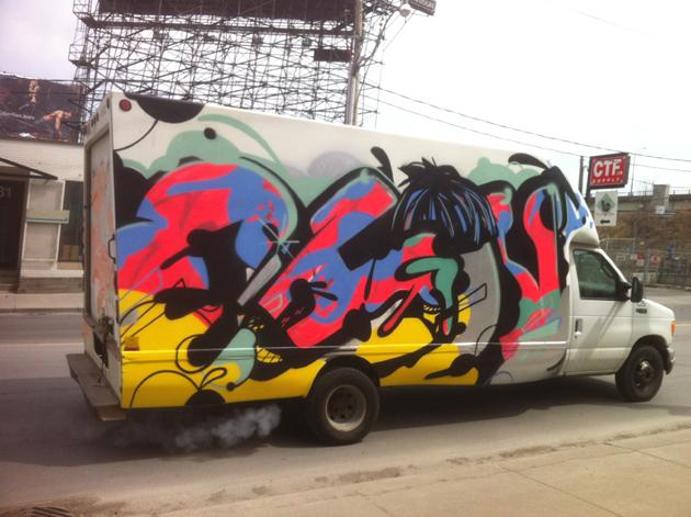 chou graffiti truck toronto