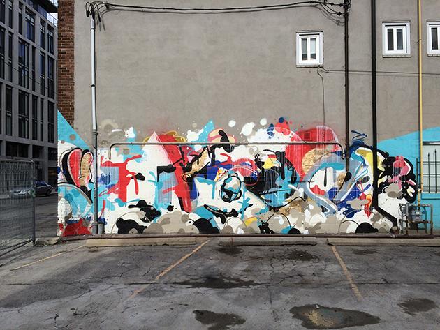chou graffiti wall toronto